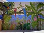 Εικόνα της Roofgarden Painting - Παναγοπούλου Δόμνα